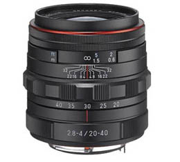 Compare Prices Of  Pentax HD DA 20-40mm f2.8-4 ED Limited DC WR - Black
