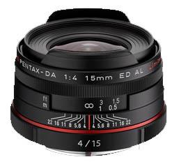 Image of Pentax HD DA 15mm f4 ED AL Limited - Black