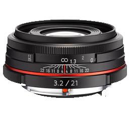 Image of Pentax HD DA 21mm f3.2 AL Limited - Black