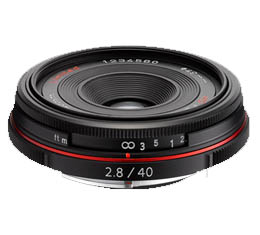 Image of Pentax HD DA 40mm f2.8 Limited - Black