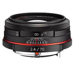 Image of Pentax HD DA 70mm f2.4 Limited - Black