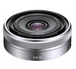 Image of Sony 16mm f2.8 (E-Mount) (SEL16F28)