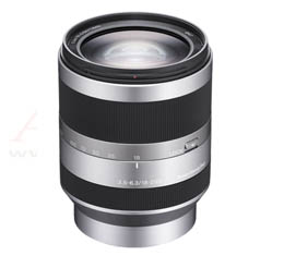 Image of Sony 18-200mm f3.5-6.3 (E-Mount) Silver (SEL18200)
