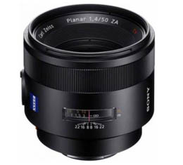 Compare Prices Of  Sony Zeiss Planar T* 50mm f1.4 (SAL50F14Z)* Damage Box - New unit - Full Warranty *