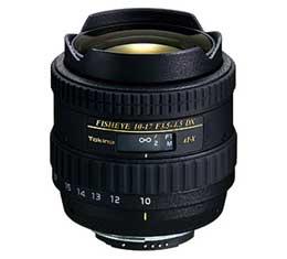 Image of Tokina ATX 10-17mm F3.5-4.5 DX Fisheye Lens (Canon)
