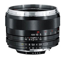 Image of Zeiss 50mm f1.4 Planar T* ZF.2 (Nikon)