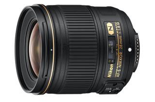 Image of Nikkor AF-S 28mm f1.8G with Bonus