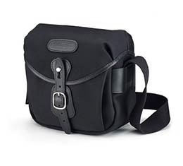 Image of Billingham Hadley Digital (Black/Black, tan leather, brass fittings)
