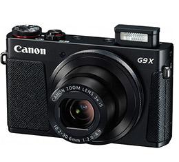 Image of Canon PowerShot G9 X Digital Camera (black)