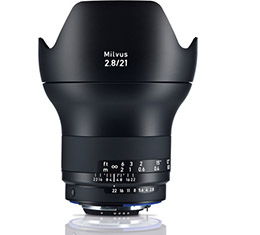 Image of Zeiss Milvus 21mm F2.8 ZF.2 Lens (for Nikon F)