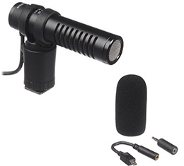 Image of Fujifilm MIC-ST1 Stereo Microphone (for X Series Cameras)