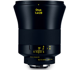 Image of Zeiss Otus 28mm F1.4 ZF.2 (for Nikon F)
