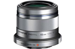Image of Olympus M.Zuiko Digital ED 45mm f1.8 Lens - SILVER (Micro Four Thirds)