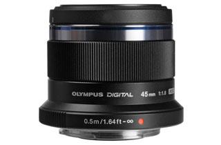 Image of Olympus M.Zuiko Digital ED 45mm f1.8 Lens - BLACK (Micro Four Thirds)
