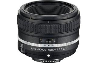 Image of Nikkor AF-S 50mm f1.8G Special Edition