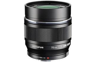 Image of Olympus M.Zuiko Digital ED 75mm F1.8 Lens (Micro Four Thirds - Black