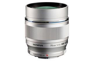 Image of Olympus M.Zuiko Digital ED 75mm F1.8 Lens (Micro Four Thirds - Silver)