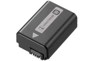 Image of Sony NP-FW50 Rechargeable Lithium-Ion Battery