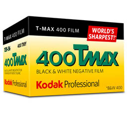 Image of Kodak Professional T-Max 400 Black & White Print Film - 135-36exp