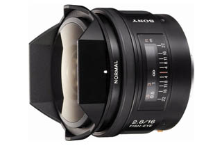 Sony SAL 16mm f2.8 Fisheye (SAL16F28) * Damage Box - New unit - Full Warranty *