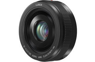 Panasonic LUMIX G 20mm F1.7 II ASPH. Lens - Black (Micro Four Thirds Mount)