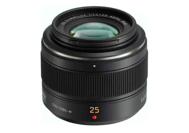 Panasonic Leica DG Summilux 25mm F1.4 ASPH.<br>(Micro Fourth Thirds Mount)