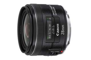 Canon EF 28mm f2.8 IS USM Lens