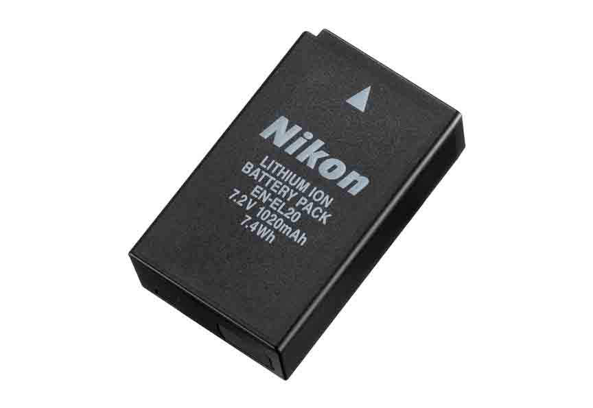 Nikon EN-EL20a Lithium Ion Battery for