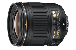 Nikkor AF-S 28mm f1.8G with Bonus