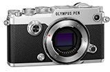 Olympus PEN-F Digital Micro 4/3 Camera (Silver Body)