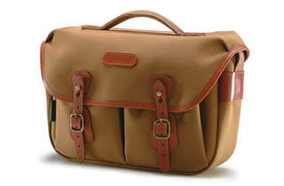 Billingham Hadley Pro (Khaki Fibrenyte, tan leather, brass fittings)
