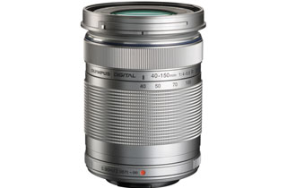 Olympus M.Zuiko ED 40-150mm F4.0-5.6 R Lens Silver (Micro Four Thirds Mount)