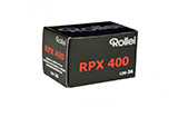 Rollei RPX 400 Black & White Print Film - 135-36exp