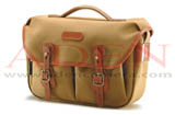 Billingham Hadley Pro (Khaki canvas, tan leather, brass fittings)