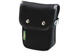 Billingham Delta Pocket (Black Canvas, Black Leather)