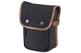 Billingham Delta Pocket (Black Canvas, Tan Leather)