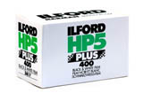 Ilford HP5 Plus 400 Black & White Print Film - 135-36exp