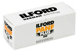Ilford Pan F Plus 50 Black & White Print Film - 120 Roll