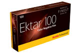 Kodak Professional Ektar 100 Color Print Film - 120mm ProPack (5 Rolls) Color Print Film