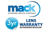 Mack Worldwide 3 Years Professional LENS Warranty(under $5,000.00)