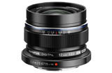 Olympus M.Zuiko Digital ED 12mm f/2.0 Lens - Black (Micro Four Thirds Mount)