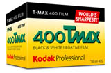 Kodak Professional T-Max 400 Black & White Print Film  - 135-36exp
